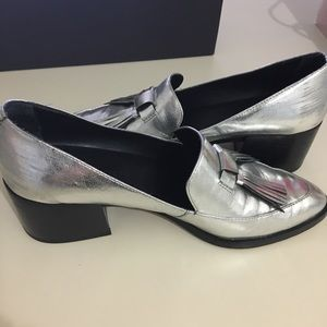 b73ec3e066b Rebecca Minkoff Shoes - Rebecca Minkoff Edie Tassel Block Heel Loafer